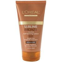 L'Oréal - Sublime Bronze Tinted Self Tanning Lotion in Medium Natural Tan #ultabeauty