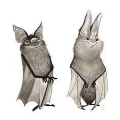 Cheery little guys. cartoon characters в 2019 г. Art And Illustration, Dark Art Illustrations, Character Illustration, Halloween Illustration, Cartoon Bat, Cartoon Characters, Cute Bat, Kawaii, Creature Design