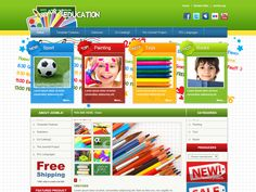JM School Free Joomla Primary Schools Template an excelent template for primary schools and also for other education or hobby themes that relates to children. The grapgic design is colourful, filled up with positive energy like childern's behaviour.
