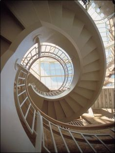 Spiral Staircase at Fernbank Museum, Atlanta, Georgia