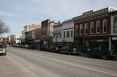 Boonville, MO : Main Street