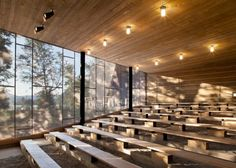 Discovery Centre Parc national du Mont-Tremblant by Smith Vigeant Architects. 9