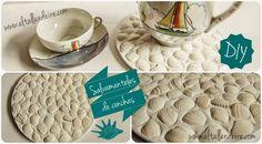 El taller de Ire: DIY: Salvamanteles de conchas