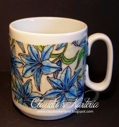Claudia's Karteria Claudia S, Blog, Mugs, Tableware, Crafts, Boxes, Bricolage, Candles, Handmade