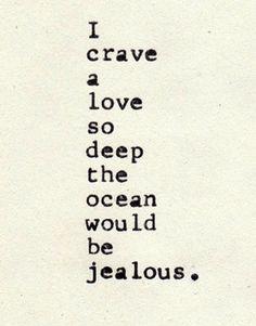 love so deep.