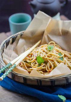 Szechuan Cold Noodles:16 Cold Noodle Recipes to Eat on Warm Days via Brit + Co