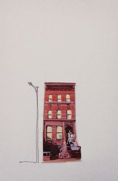 Embroidered Architecture by Stephanie K. Clark - at HOME Victoria Embroidery Applique, Beaded Embroidery, Cross Stitch Embroidery, Machine Embroidery, Embroidery Designs, Stephanie Clark, Shape Collage, Collage Ideas, Gravure Illustration