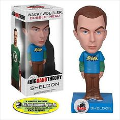 Exclusive Big Bang Theory Batman Sheldon Cooper Bobble Head 830395028705 on eBid United States