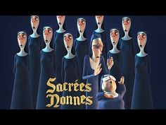 Animated short film Film Graduation Project School: ISART DIGITAL, the video game and animation / VFX School. Two eccentric nuns arrive late at the Holy… Films Cinema, Tales From The Crypt, Graduation Project, Film D'animation, Chor, Mood Pics, 3d Animation, Kirchen, Cartoons