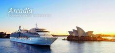 The P Arcadia Cruise Ship!
