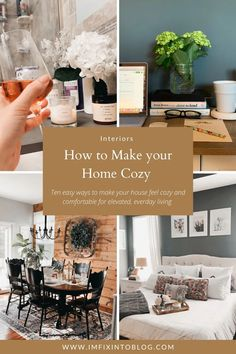 NC Blogger I'm Fixin' to shares 10 easy ways on how to make your home cozy including favorite products and tutorials. Check it out!