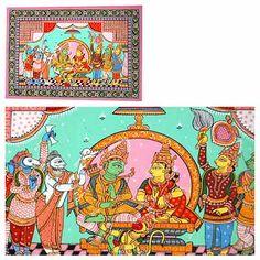 Ramayana : Pattachitra Paintings