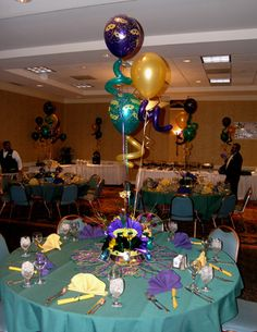 Masquerade Mask Table Decorations Mardi Gras Table Decoro'brien Productions 7704227200  Mardi