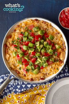 Southwest Cheesy Chicken & Rice Skillet #recipe