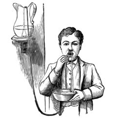 Nasal douche (for the treatment of severe nosebleeds), from Walter Pye's…
