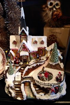 christmas displaycracker barrel gift shop