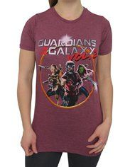 GOTG Vol. 2 Group Photo Women's T-Shirt
