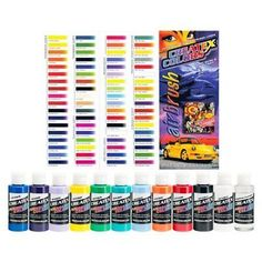 Airbrush Paints 183092: Createx Colors Ready To Use Airbrush Paint Set Of All 11 Opaque Colors Plus F... -> BUY IT NOW ONLY: $48.78 on eBay!