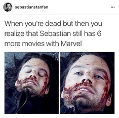 Bucky Barnes: The Winter Soldier Marvel Funny, Marvel Avengers, Marvel Comics, Avengers Memes, Marvel Memes, Superhero Memes, Avengers Imagines, Sebastian Stan, Loki