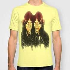 twins ascension  T-shirt by MAKE ME SOME ART - $18.00