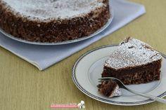Torta+caprese+senza+burro