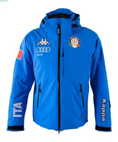 Kappa Men Italian Alpine Team FIS Jacket - Azzurro Italia