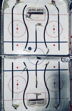 1960s Era Eagle Stanley Cup Table Hockey Game. Wayne Gretzky, Hockey Games, Old Games, Stanley Cup, Vintage Toys, Robot, 1960s, Nostalgia, Eagle
