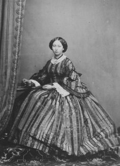 Princess Alice, Grand Duchess of Hesse, 1860s.