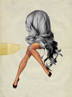 Awesome juxtaposed collage   Waldemar Strempler