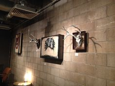 {ruination+vitality} Art Show at Infinite Monkey Theorem- Denver, Co~originals by Kyle Duce