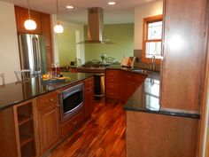 A Wall Was Removed Expand This Kitchen Into What Small Dining Room The