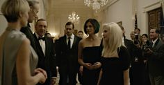 Russian punk protest group Pussy Riot's Nadya Tolokonnikova and Masha Alyokhina humiliated a fictional Russian president on Season 3 of 'House of Cards.'