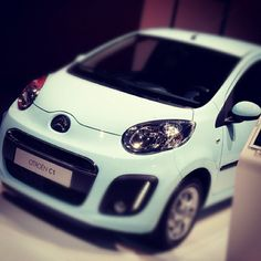 Citroën C1 at the Paris Motor Show. Are you trading down to a small engine car to save on fuel costs in 2012?