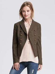 Heritage Olive Hacking Jacket Product Image