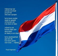 My homeland for many years! Dutch Words, Respect Quotes, Dutch Recipes, Netherlands, Best Quotes, Freedom, My Love, 5 Mei, Homeland