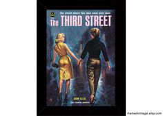 Lesbian Art Print: The Third Street Cover Art, Pulp Art, Paul Rader