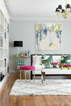 The best collection of Elegant Living Room Colors Elegant Living Room, My Living Room, Home And Living, Living Room Decor, Modern Living, Small Living, Minimalist Living, Living Area, Living Room Color Schemes