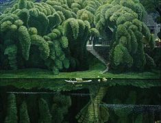 Jian Chong Min | he's like the Bev Doolittle of Chinese landscape