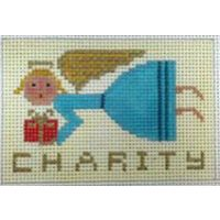 Christmas Angel - Charity by Birds of a FeatherSize: Cross Stitch Christmas Ornaments, Christmas Cross, Christmas Angels, Cross Stitch Embroidery, Cross Stitch Patterns, Bird Feathers, Needlepoint, Charity, Projects To Try