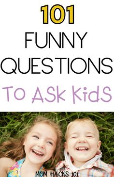 101 Fun Questions To Ask Kids To Know Them Better – Mom Hacks 101 Fun Questions To Ask Kids To Get Know Them Better! Conversations Starters To Let Kids Use Their Imagination Perfect For Dinner Time Or Long Car Rides Fun Questions For Kids, Funny Questions, Toddler Activities, Activities For Kids, Toddler Chores, Indoor Activities, Toddler Boys, Mama Hacks, Communication Orale