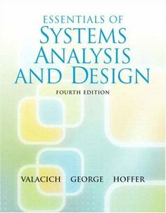Essentials of System Analysis and Design Edition by Valacich George and Hoffer solution manual - Home Testbanks and Solutions Systems Development Life Cycle, Data Modeling, Tool Organization, Organizing, Life Cycles, Textbook, Manual, Essentials, Joseph