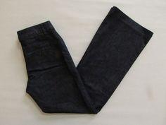 "Express Editor Denim Jeans Pants 2 R Dark Trouser Flare leg Stretch low rise 32"" #Express #EditorDenim #CasualFriday"