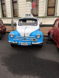 Renault 4CV Taxi
