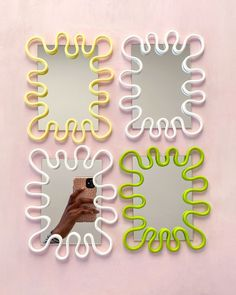 Clay Projects, Clay Crafts, Diy And Crafts, My New Room, My Room, Room Ideas Bedroom, Bedroom Decor, Funky Mirrors, Teenage Room Decor