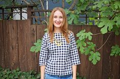 Made By Meg: Gingham Love