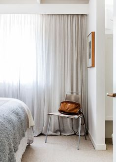 Bedroom Decor Curtains it's totally okay to put your bed up against the window | window