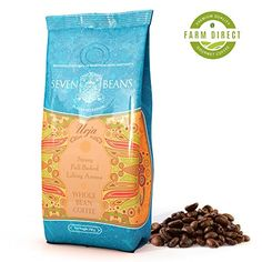 Urja Whole Bean Coffee  Medium Roast  Single Origin Cold Brew Indian Gourmet Coffee by Seven Beans Coffee Company 1764 >>> This is an Amazon Associate's Pin. Details on product can be viewed on Amazon website by clicking the VISIT button