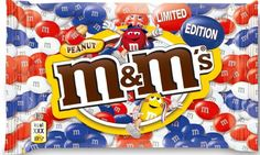 Mars has announced the launch of M's Limited Edition Union Jack pack, containing only red, white and blue peanut M's, to celebrate a summer of British events
