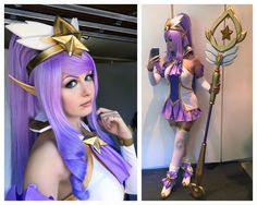 League of Legends: Beautiful Star Guardian Janna cosplay by Kinpatsu
