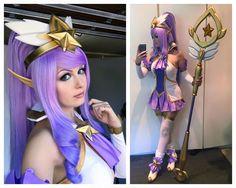 League of Legends: Beautiful Star Guardian Janna cosplay by Kinpatsu